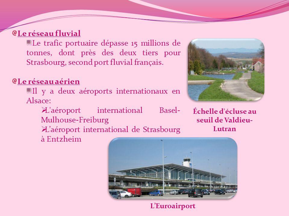 Les Transports en Alsace Les transports en Alsace sont assez bien développés au vu de la densité de la population mais des projets d'agrandissement so