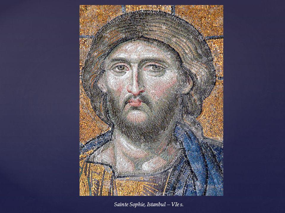 La mosaïque devient la marque de lEmpire Byzantin La mosaïque devient la marque de lEmpire Byzantin Lart byzantin Ve / XVe s. Cathédrale Sainte-Sophie