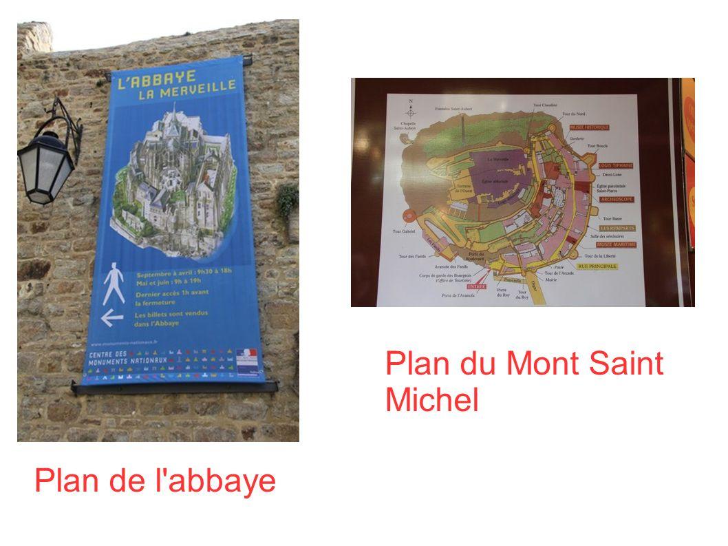 A l intérieur du Mont Saint Michel