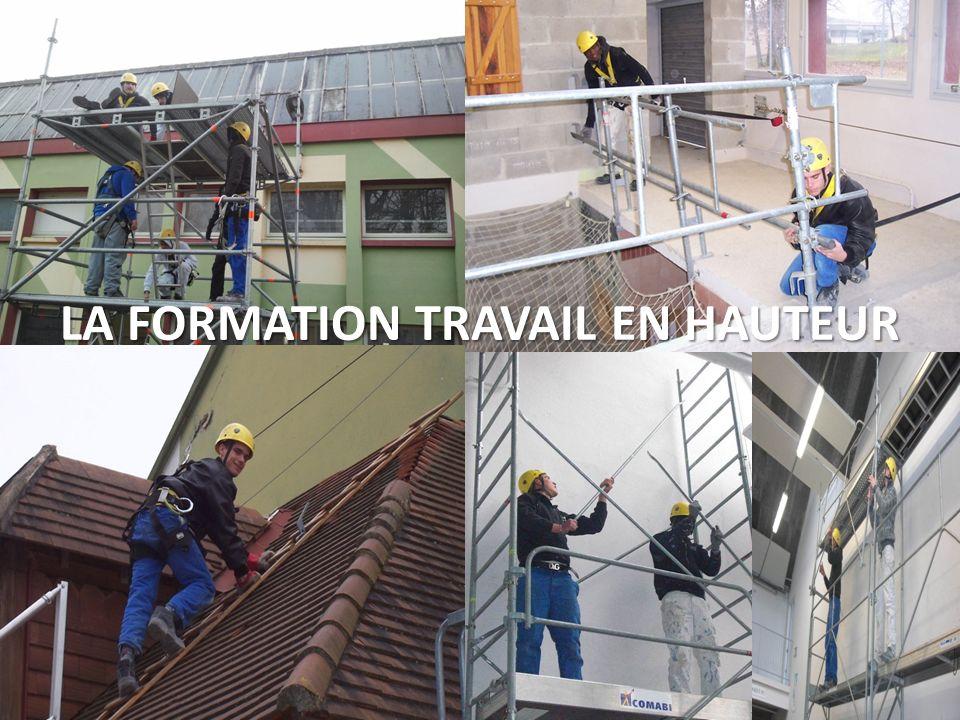 LA FORMATION TRAVAIL EN HAUTEUR