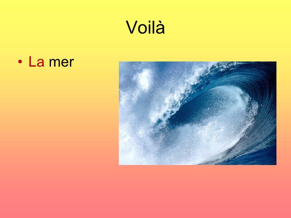 Voilà La mer