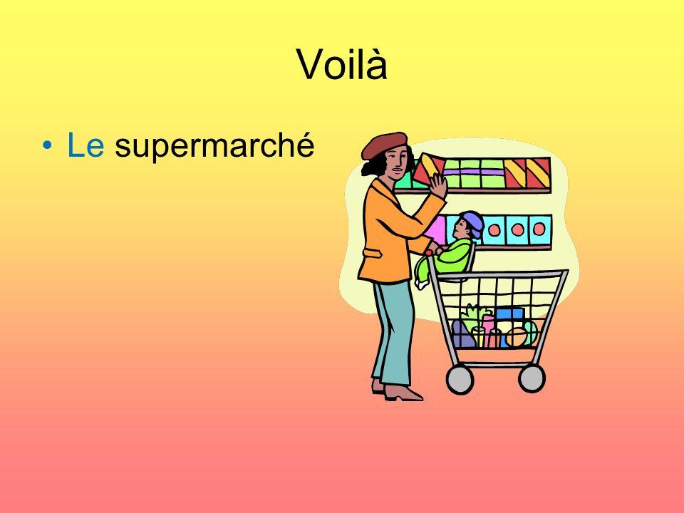 Voilà Le supermarché