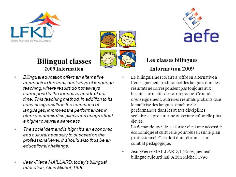Be patient After three years in Kindergarten, your child will start to understand English, but he may speak a little or not at all.