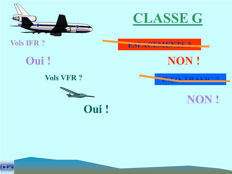 La dernière catégorie d espace est la classe G .Il s agit d un espace dit de libre circulation .