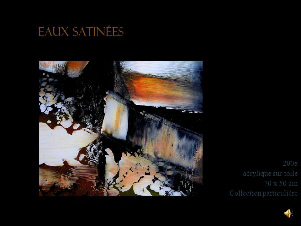 Golgotha 2010 huile et acrylique sur toile 90 x 70 cm