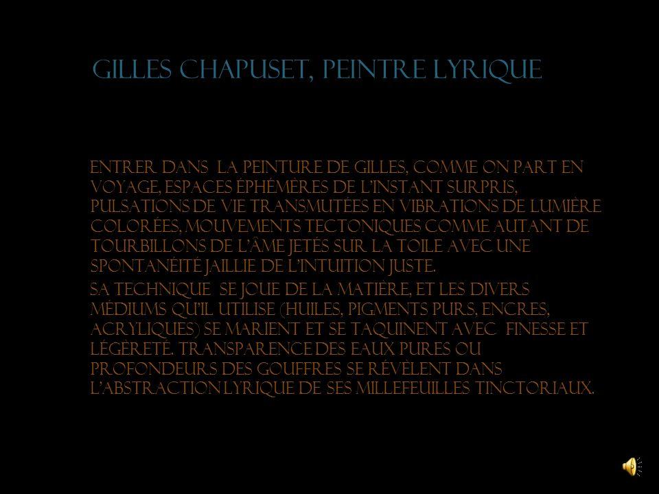 Racines créatrices Le rapport fusionnel de mes créations avec la nature prend sa source dans la richesse et les variations des paysages de Franche- Co