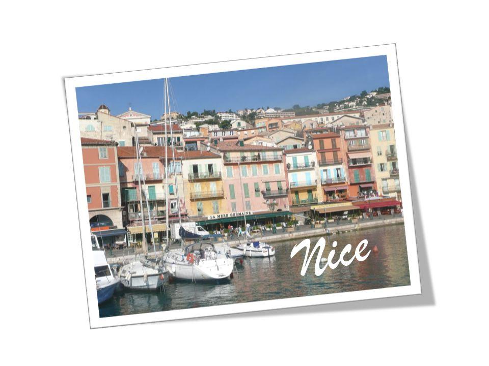 Nous sommes partis à Nice en TGV. 8 Juin 2010 6:24