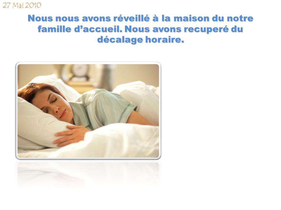 Nous sommes arrivés à Nantes et nous sommes rencontrés notre famille daccueil. 26 Mai 2010 21:45