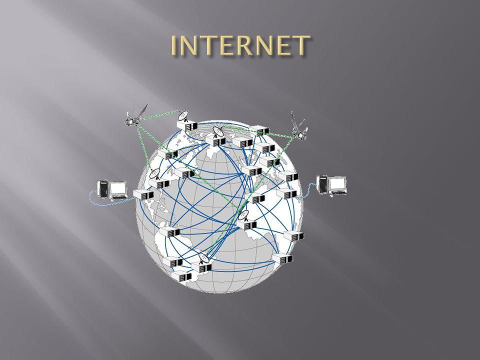Internet est un réseau mondial permettant de connecter les ordinateurs entre eux.