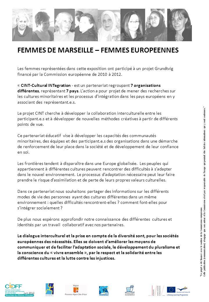 Au cours de rencontres transnationales et dateliers à Marseille, nous avons interrogé nos représentations de la personne « étrangère ».