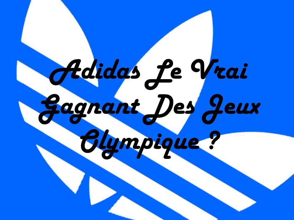 Adidas Le Vrai Gagnant Des Jeux Olympique ?