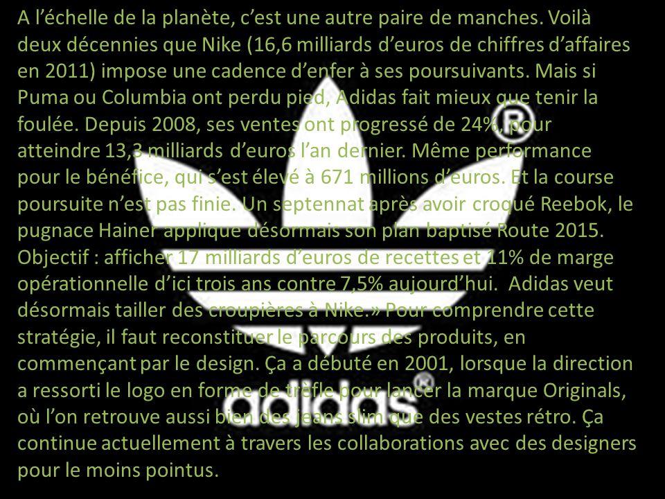 Adidas a pu lancer la chaussure de foot la plus légère du monde, vendue sous le nom dAdizero F50.