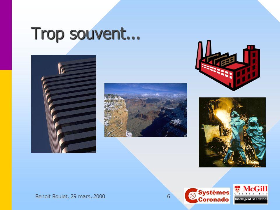 Benoit Boulet, 29 mars, 20006 Trop souvent...