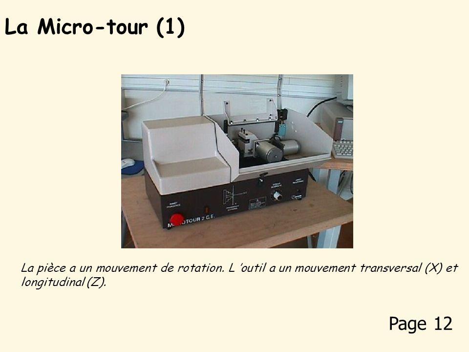 Des exemples de fabrication en collège La Micro-fraiseuse (5) Page 11