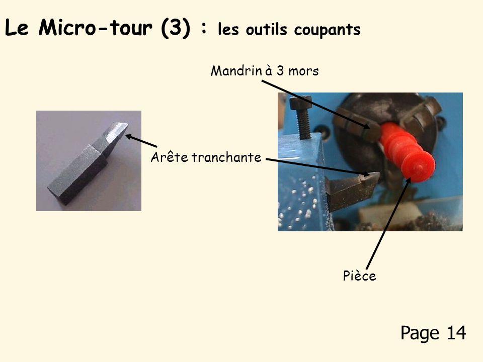 Les pièces réalisées avec le micro-tour : Pions pour solitaire Quille porte-clé Les pièces réalisées avec le tour sont cylindriques, côniques voire pa