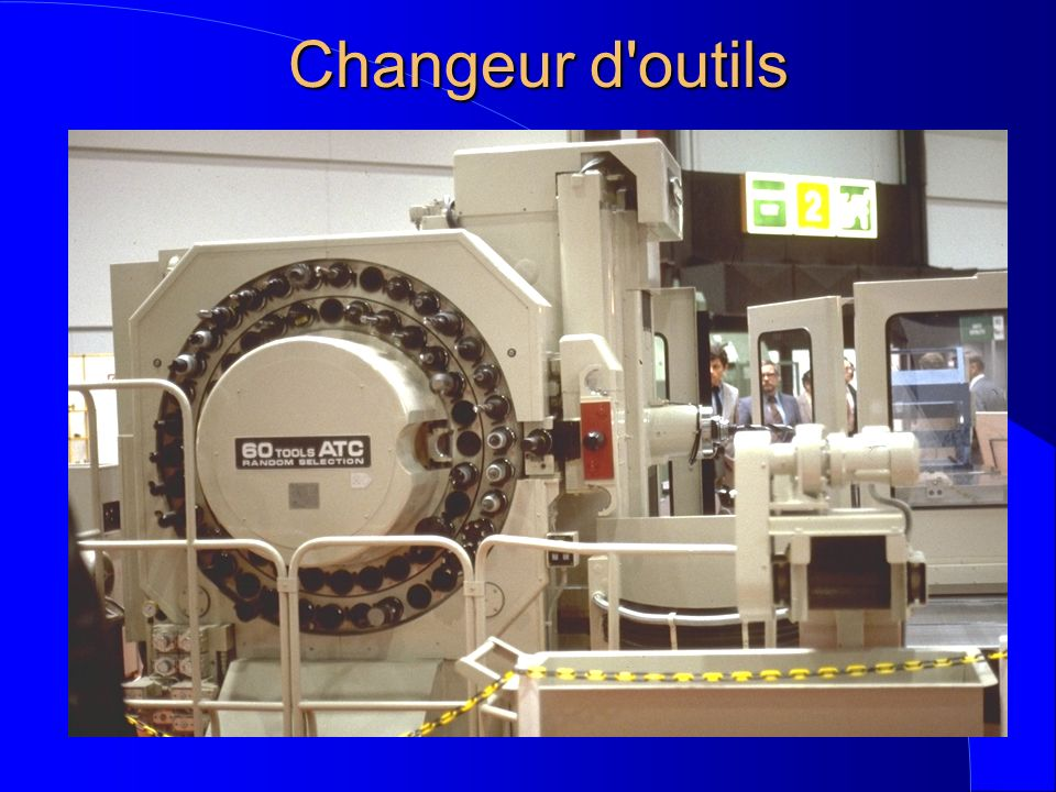 Changeur d outils
