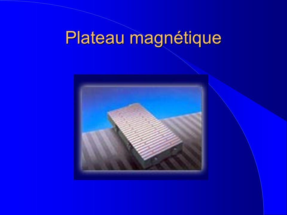 Plateau magnétique