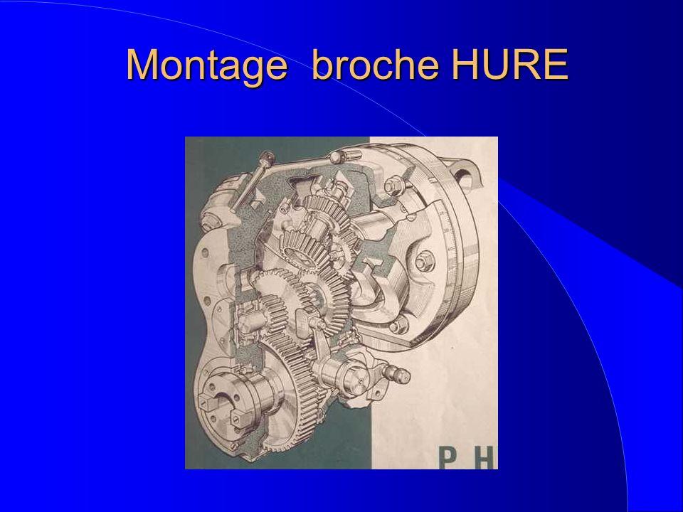 Montage broche HURE