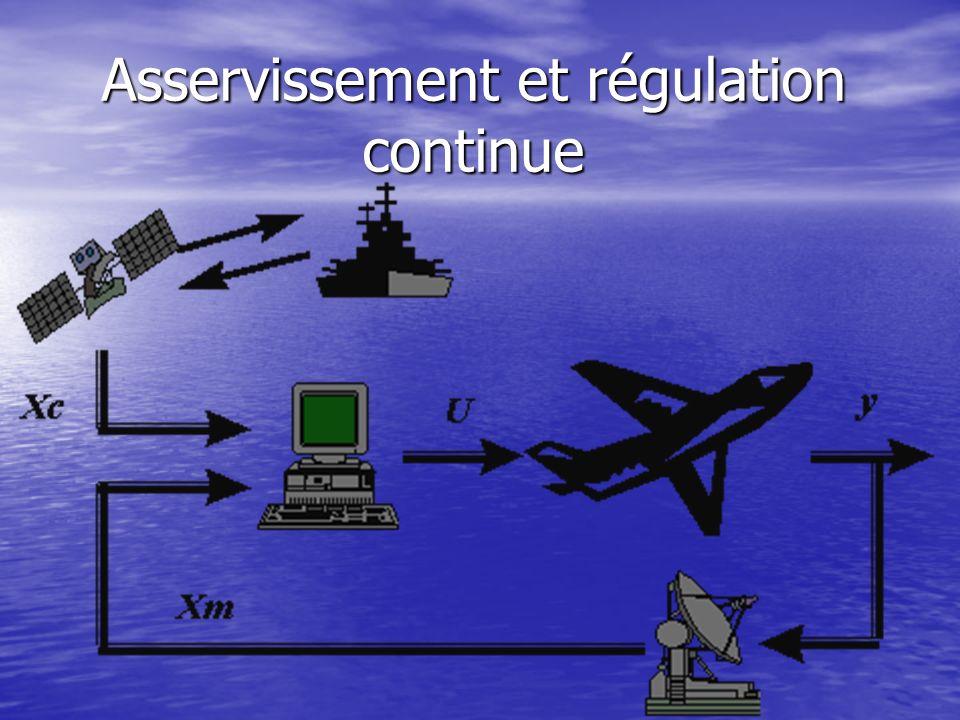 Asservissement et régulation continue