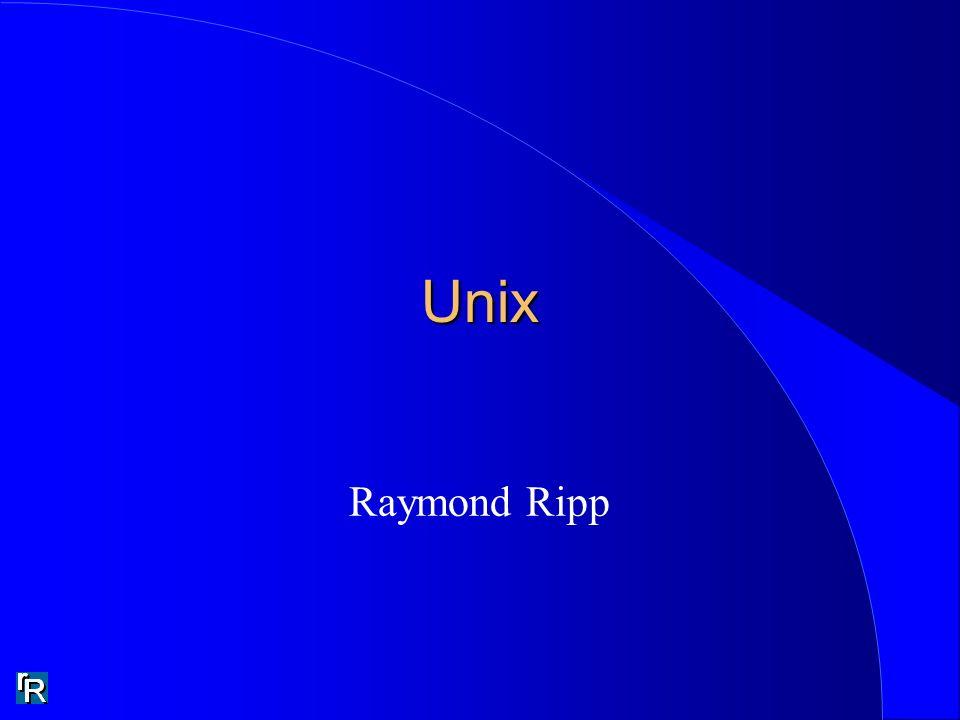 Unix Raymond Ripp