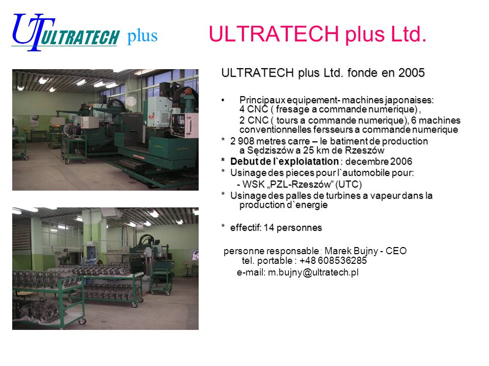 ULTRATECH plus Ltd.ULTRATECH plus Ltd.