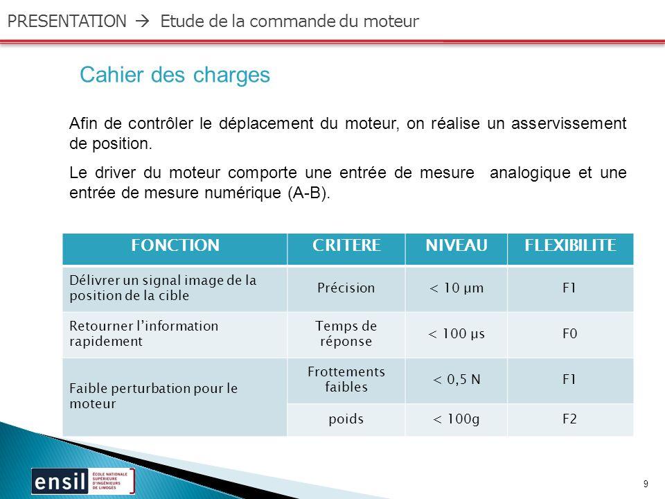 10 PRESENTATION Instrumentation/Choix du capteur GND Analog.
