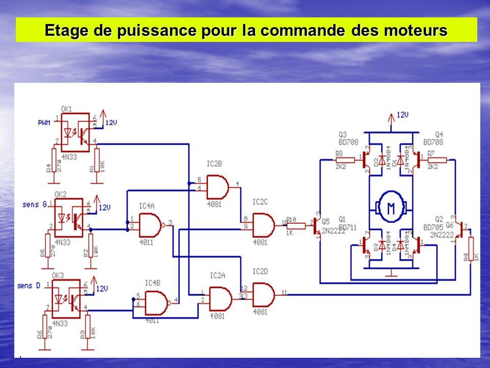Etage de puissance pour la commande des moteurs