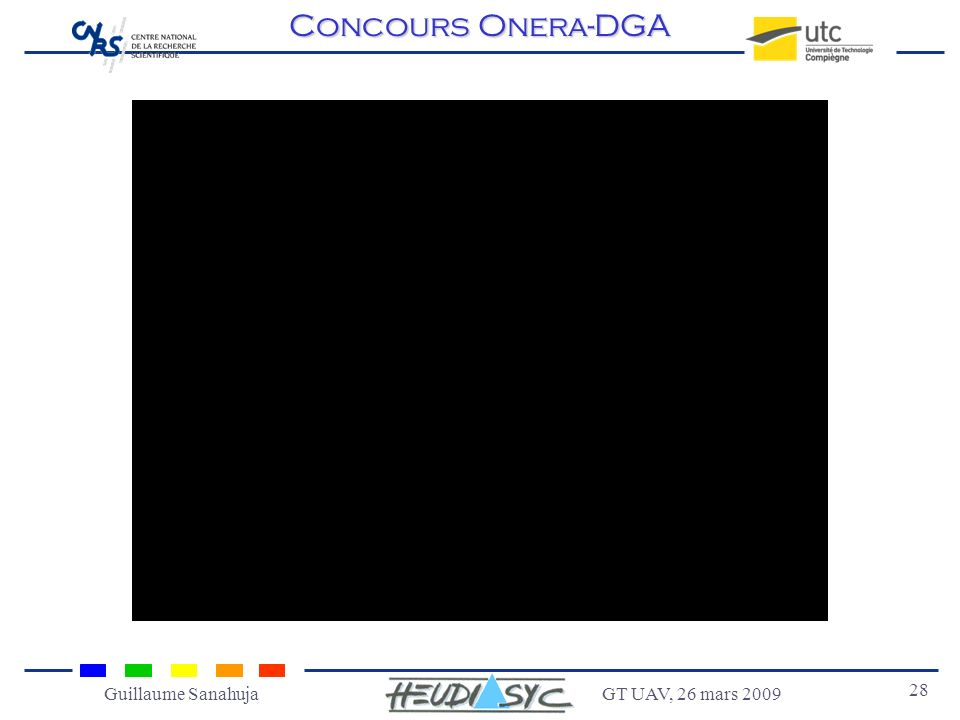 GT UAV, 26 mars 2009 28 Guillaume Sanahuja Concours Onera-DGA