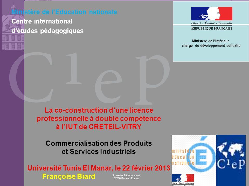 © CIEP 1, avenue Léon-Journault 92318 Sèvres - France Ministère de lEducation nationale Centre international détudes pédagogiques La co-construction d