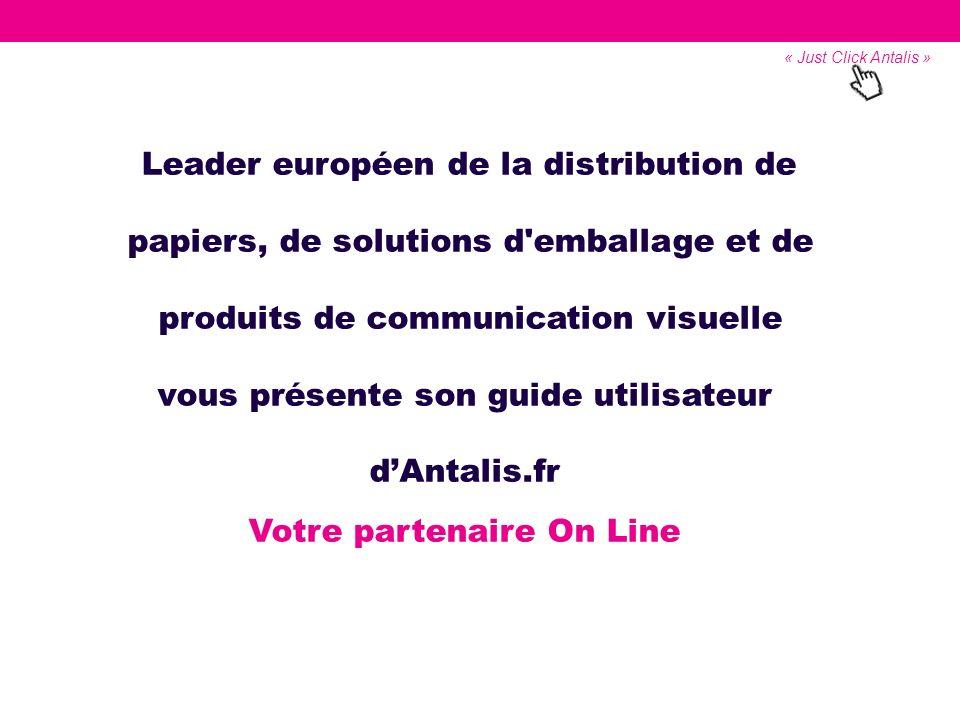 Leader européen de la distribution de papiers, de solutions d'emballage et de produits de communication visuelle vous présente son guide utilisateur d