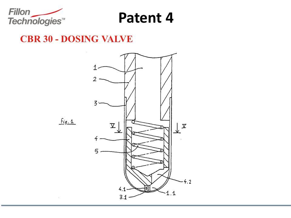 CBR 30 - DOSING VALVE Patent 4
