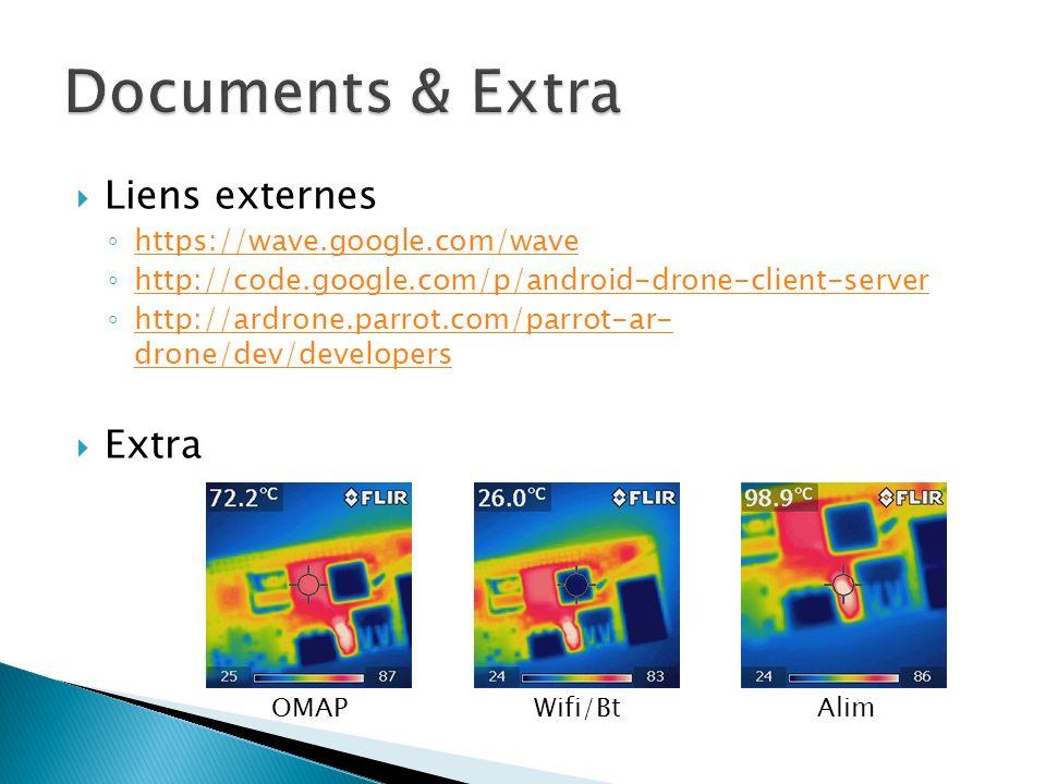 Liens externes https://wave.google.com/wave http://code.google.com/p/android-drone-client-server http://ardrone.parrot.com/parrot-ar- drone/dev/developers http://ardrone.parrot.com/parrot-ar- drone/dev/developers Extra OMAPWifi/BtAlim