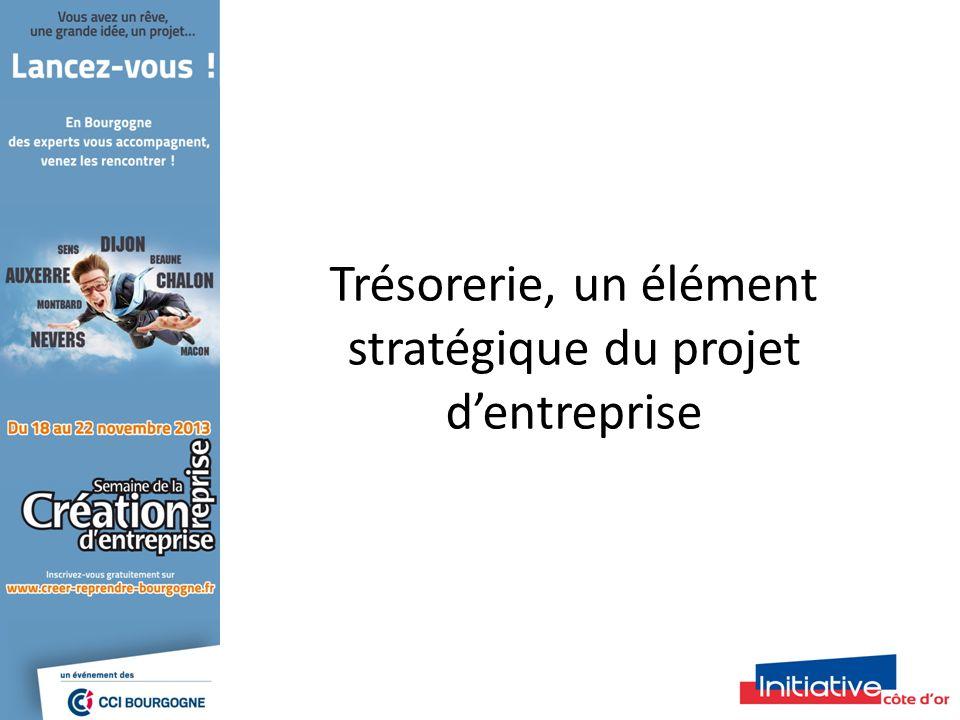 Trésorerie, un élément stratégique du projet dentreprise