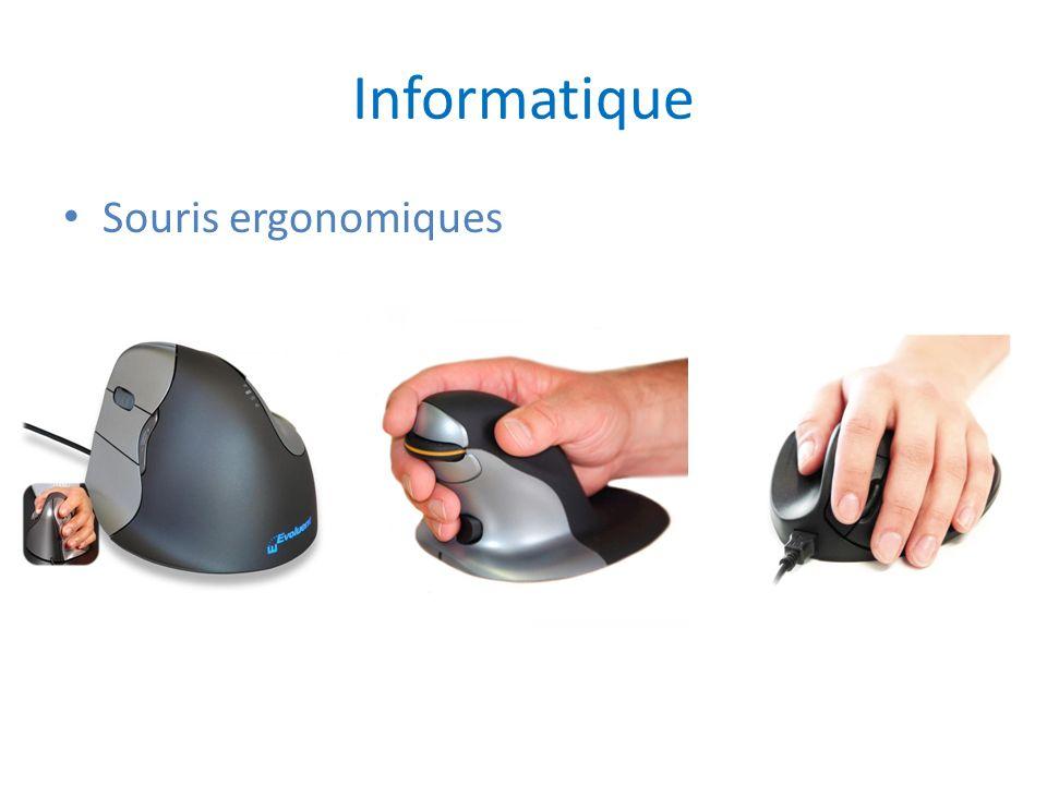 Informatique Souris ergonomiques