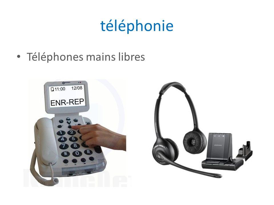 téléphonie Téléphones mains libres