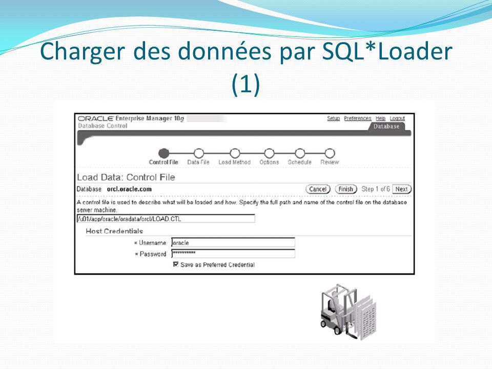 Charger des données par SQL*Loader (1)