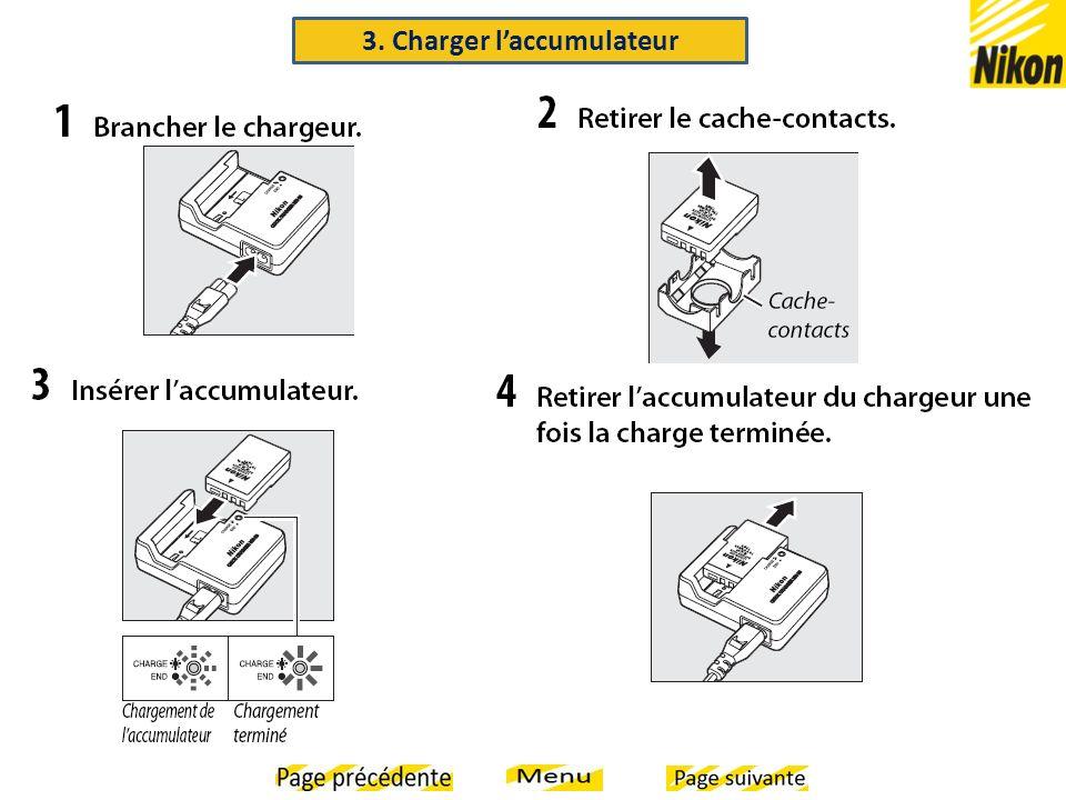 3. Charger laccumulateur