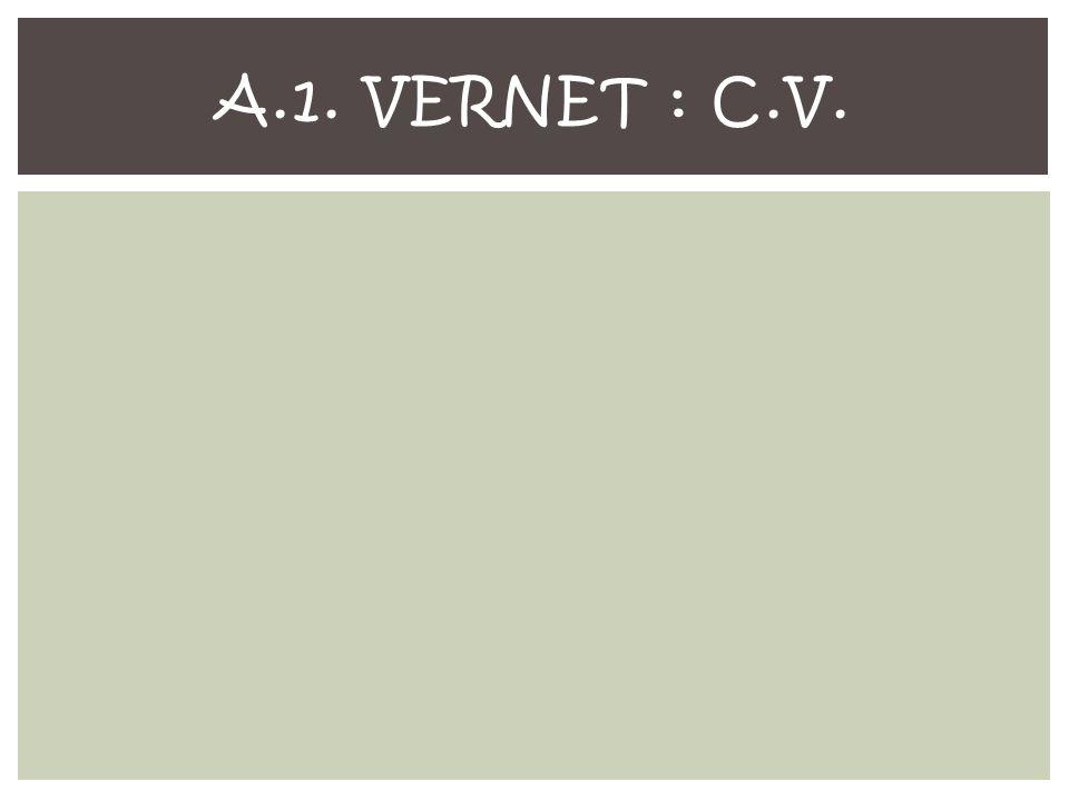 A.1. VERNET : C.V.