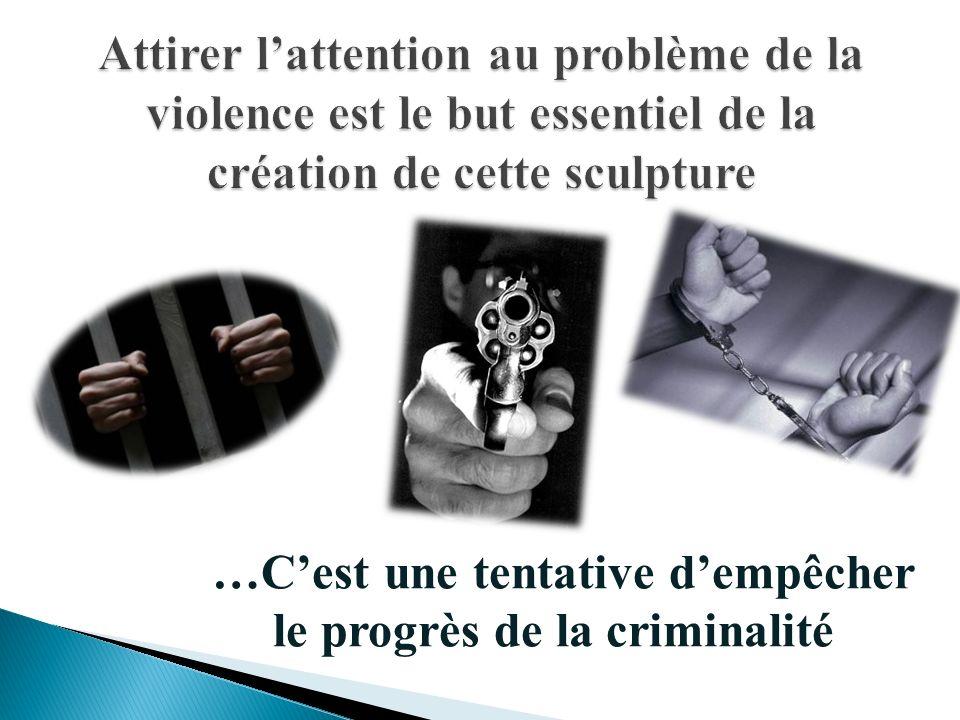…Cest une tentative dempêcher le progrès de la criminalité