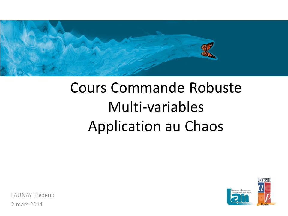Les systèmes chaotiques: différents attracteurs Lattracteur de Rossler : Doublement de période pour la variable Z: Introduction Quest-ce que le chaos.