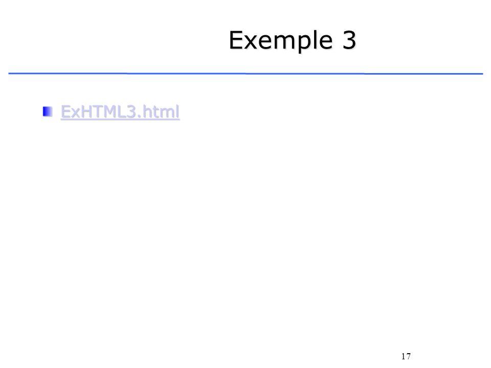 17 Exemple 3 ExHTML3.html