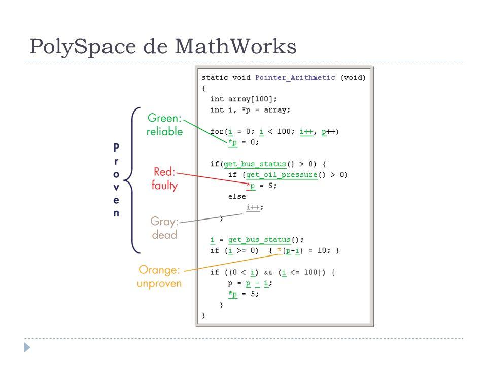 PolySpace de MathWorks