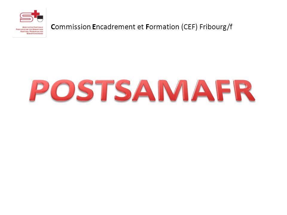 Commission Encadrement et Formation (CEF) Fribourg/f