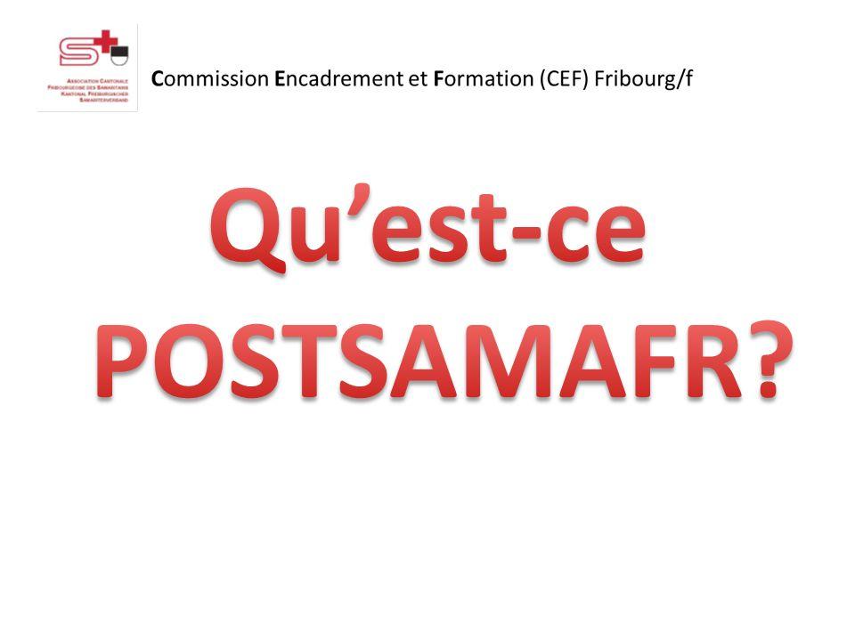 POSTSAMAFR est… -Un service SMS -Pour les postes sanitaires et événements majeurs (pour «rechercher» des aides) -CE NEST PAS une plateforme publicitaire