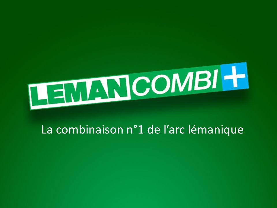 La combinaison n°1 de larc lémanique
