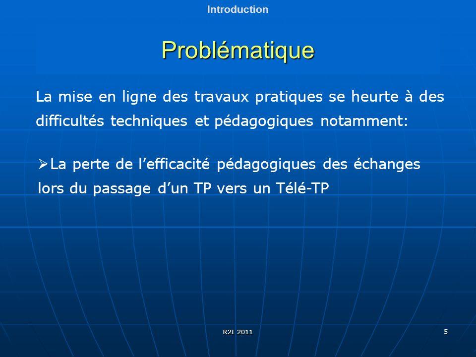 5 Problématique Introduction La mise en ligne des travaux pratiques se heurte à des difficultés techniques et pédagogiques notamment: La perte de leff
