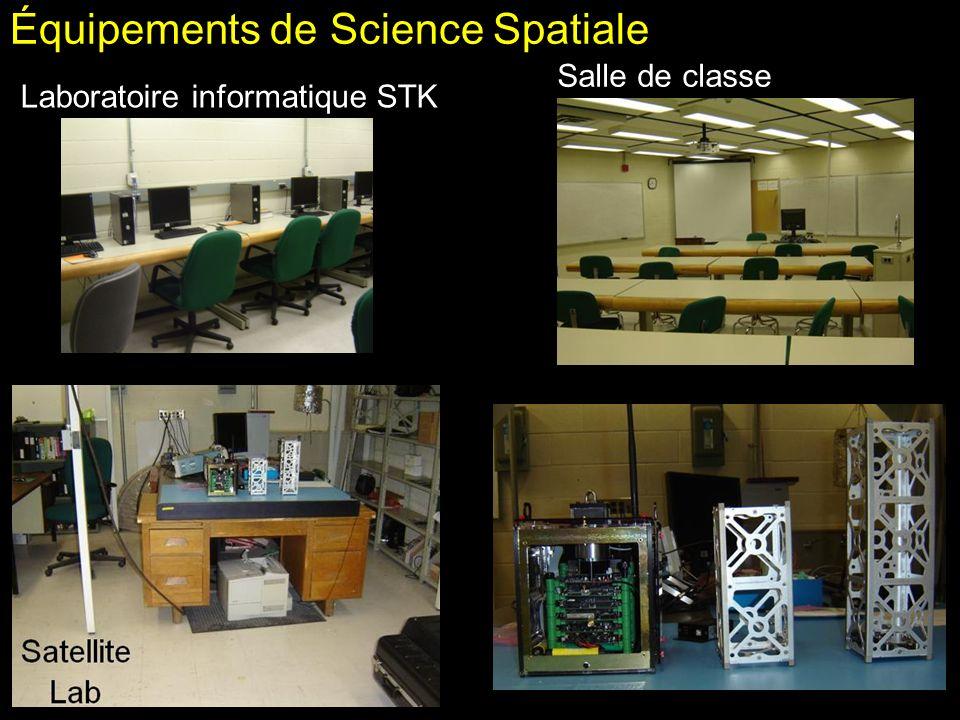 Équipements de Science Spatiale Salle de classe Laboratoire informatique STK