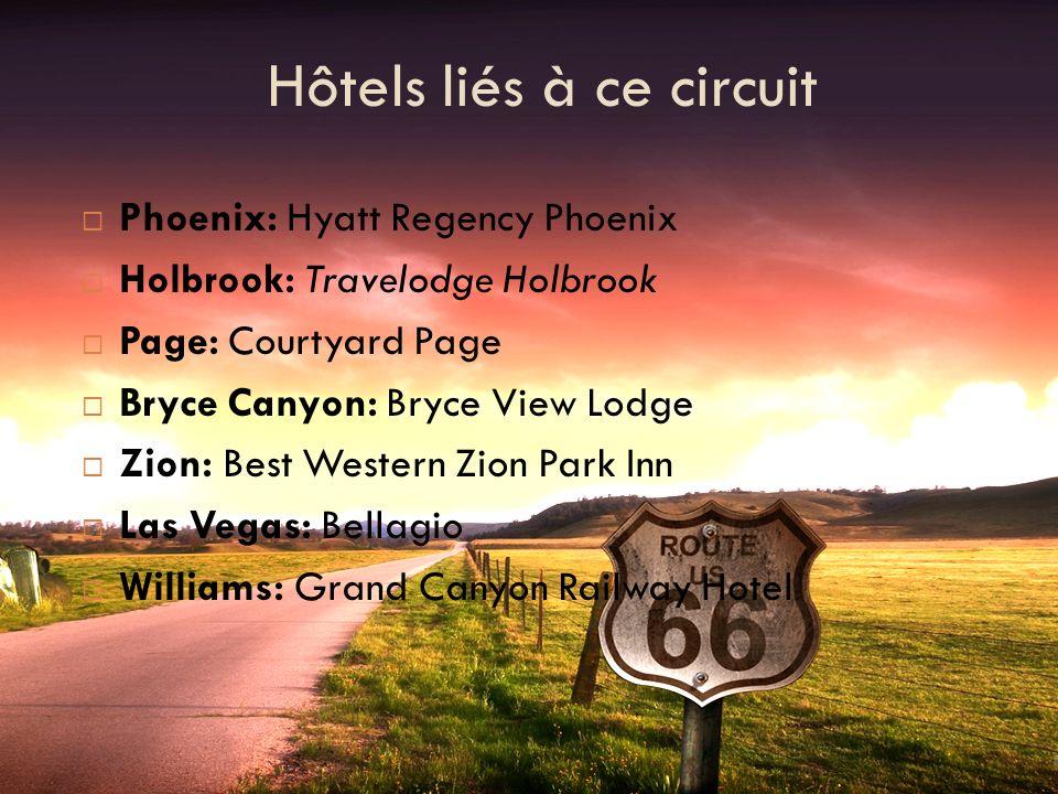 Jour 6) Zion National Park Vous aurez le temps de finir votre visite de Bryce avant de vous mettre en route vers le parc du Zion.