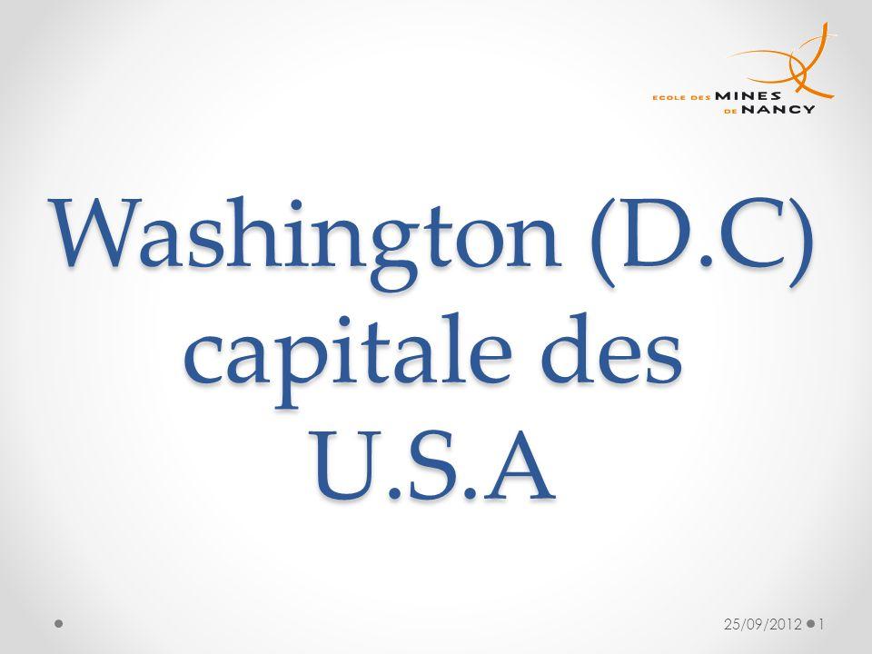 Washington (D.C) capitale des U.S.A 25/09/20121