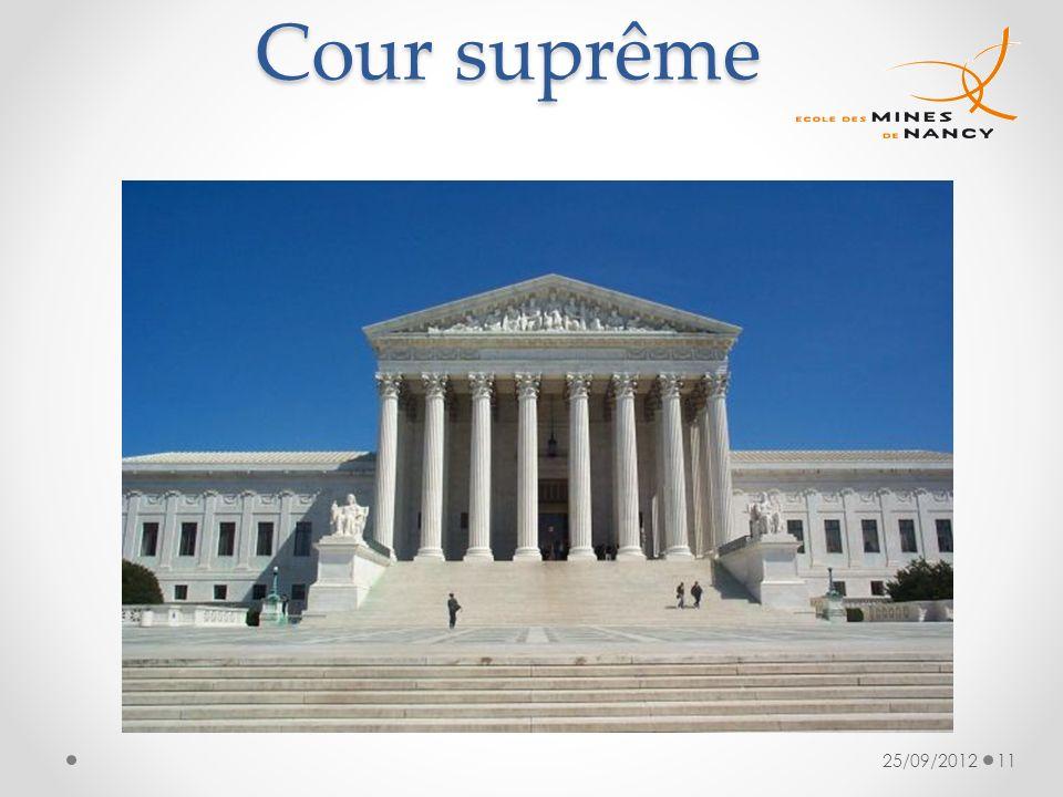 Cour suprême 25/09/201211